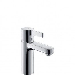 Hansgrohe Metris S Single lever basin mixer for standard basins with waste set