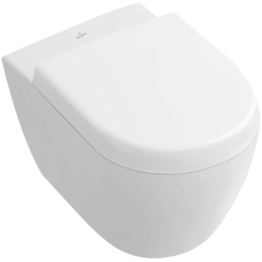 Villeroy & Boch Subway 2.0 Compact wall hung WC pan + seat