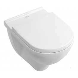 Villeroy & Boch O.novo rimless wall-mounted wc + seat
