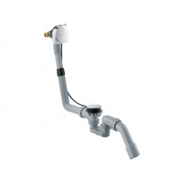 Hansgrohe Complete set for Exafill S bath filler with waste and overflow set