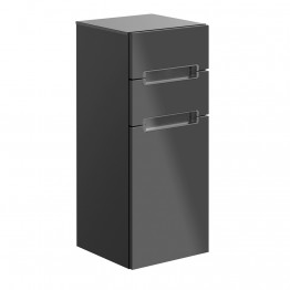 Villeroy & Boch Subway 2.0 storage. Glossy Grey.