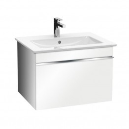 Venticello vanity white gloss 600mm + basin