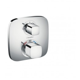 Hansgrohe Ecostat E Thermostatic mixer for concealed installation with integrated shut off/diverter valve