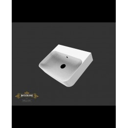 Villeroy & Boch Finion washbasin white, with CeramicPlus, grounded, with overflow