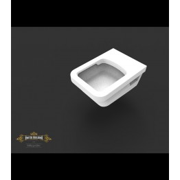 Villeroy & Boch Architectura wc Square Rimless Wall Hung Toilet + seat
