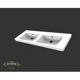 Subway 2.0 double washbasin 1300mm