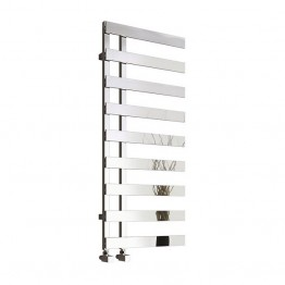 Reina Florina Designer Heated Towel Rail 1235mm H x 500mm W Chrome
