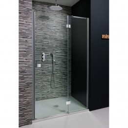 Simpsons 760mm Design Hinged Shower Door With Inline Panel