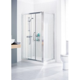 Lakes • shower side panel • Silver