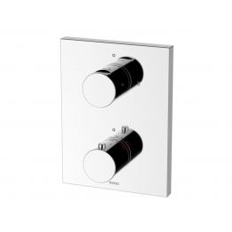 Toto concealed themorstatic valve with 2 way diverter
