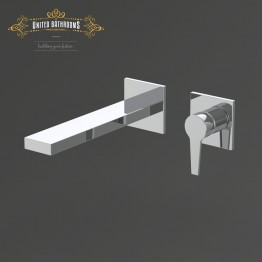 Keuco Edition 11 Single lever basin mixer front trim