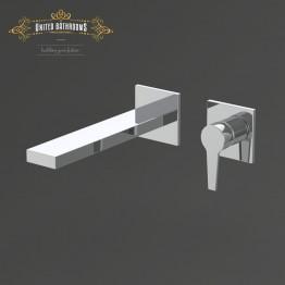 Keuco Edition 11 Single lever basin mixer front trim