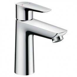 Hansgrohe Talis E Single Lever Basin Mixer 110 With Push-Open Waste  71711000