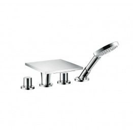 Hansgrohe AXOR Massaud 4-hole tile mounted bath and shower mixer