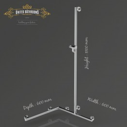Keuco • Plan Care 1100mm Hand Shower Sliding Rail