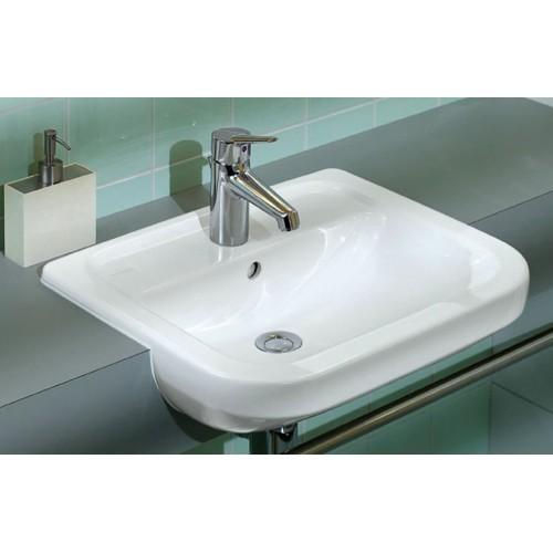 villeroy boch omnia architectura semi recessed washbasin. Black Bedroom Furniture Sets. Home Design Ideas