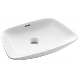 Bauhaus Anabel wash basin surface fitted bowl 500x360x110 mm CT0091SCW