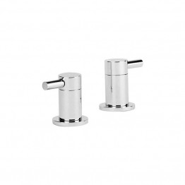 Cifial Technovation 300 Pair of Deck Bath Valves Chrome 34890TB-625