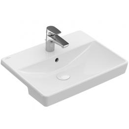Villeroy & Boch Avento semi recessed built in wash basin 550mm