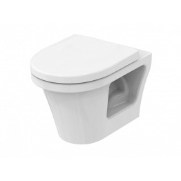 Toto CF Public direct flush pan Tornado flush rimless + seat