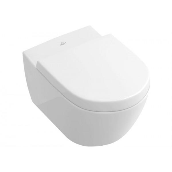 Villeroy & Boch Subway 2.0 Rimless  wall mounted wc pan + seat