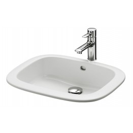 TOTO NC S Series SELF RIM WASH BASIN WHITE 530