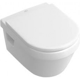Villeroy & Boch Omnia Architectura Rimless wall hung toilet pan& Seat 5684.r0.R1