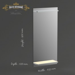 Keuco Cabinets - Edition 300 Mirror Cabinet 650x650x160mm