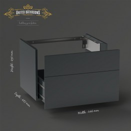 Keuco - Royal Reflex - Vanity unit, front pull + SET