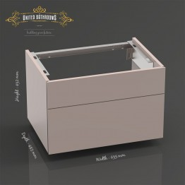Keuco - Royal Reflex - Vanity unit , front pull + washbasin